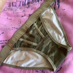 NWT Victoria Secrets Pink cameo hipster underwear